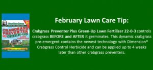 february lawn care tip